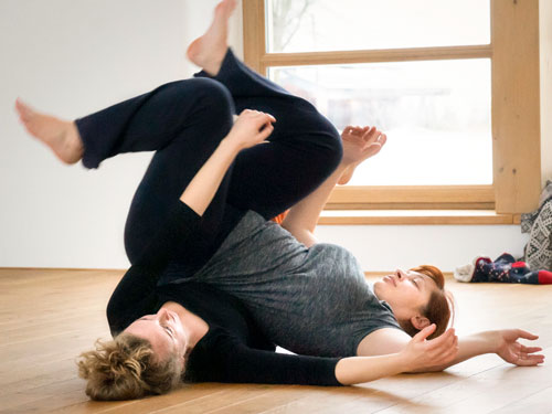 Dynamic Softness in Contact Improvisation, 29 February – 1 March 2020, Žíl in Orlice Mountains CZECH